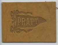 L21 American Tobacco Leather, College Pennants, 1912, Pratt