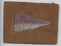 L21 American Tobacco Leather, College Pennants, 1912, Chicago