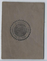 L23 American Tobacco Leather, State Seals, 1912, Arizona (Gray)