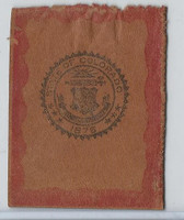 L23 American Tobacco Leather, State Seals, 1912, Colorado