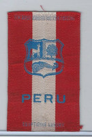 S14 American Tobacco Silk, National Arms, 1910, Peru