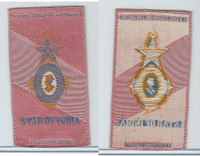 S17 ATC Silk, Military & Lodge Medals, 1910, Star Of India