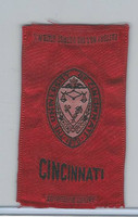 S25 American Tobacco Silk, College Seal, 1910, Cincinnati