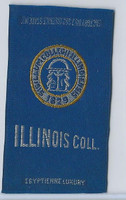 S25 American Tobacco Silk, College Seal, 1910, Illinois