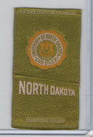 S25 American Tobacco Silk, College Seal, 1910, North Dakota