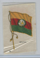 S33 American Tobacco Silk, National Flags, 1910, Bolivia