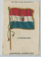 S33 American Tobacco Silk, National Flags, 1910, Luxembourg
