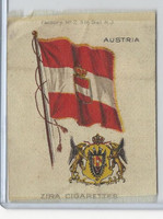 S38 American Tobacco Silk, Flags & Arms, 1910, Austria