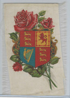 S Silk, Crest Surrounded By Roses, 1910, 7 X 5 In.