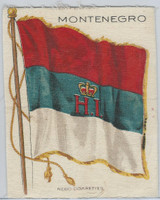 S30 American Tobacco Silk, National Flags, 1910, Montenegro (5 X 6.5 in)