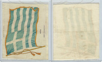 S31 American Tobacco Silk, National Flags, 1910, Greece (5 X 6.5 in)