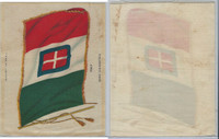 S31 American Tobacco Silk, National Flags, 1910, Italy (5 X 6.5 in)