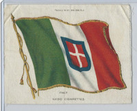 S32 American Tobacco Silk, National Flags, 1910, Italy (4 X 5.5 in)