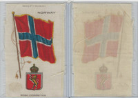 S35 American Tobacco Silk, Flags & Arms, 1910, Norway (3 X 5 in)