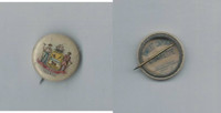 P10 American Tobacco Pins, State Arms, 1898, Delaware