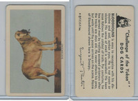 F279-5 Quaker, Challenge of the Yukon, Dog Cards, 1950, Bloodhound