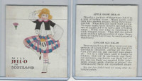 F216-2 Jell-O Girl, Countries Tri-fold, 1925, Scotland