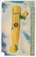 F277-3, H.J. Heinz, Famous Airplane Premiums, 1935, #1 Roscoe (trimmed)
