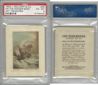 M108-12 J. Millhoff & Co., Art Treasures, 1926, #48 Dogger Bank, PSA EXMT