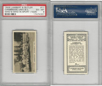 L8-98 Lambert, Who's Who In Sports, 1926, #11 Cambridge, Rowing, PSA 6 EXMT