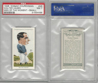 C82-66 Churchman, Men Moment, 1928, #26 Walter Hagen, Golf, PSA 7 NM