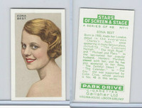 G12-100 Gallaher, Stars Of Screen & Stage, 1935, #11 Edna Best