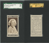 L56-12 Lloyd Cigarettes, Cinema Stars, 1937, #5 Miriam Hopkins, SGC 96 Mint