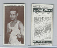 C82-34 Churchman, Boxing Personalities, 1938, #27 Benny Lynch