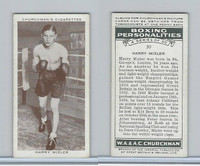 C82-34 Churchman, Boxing Personalities, 1938, #30 Harry Mizler