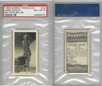 M164-42 Murray Sons, Bathing Belles, 1939, #19 Anne Shirley, PSA 8 NMMT