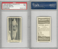 M164-42 Murray Sons, Bathing Belles, 1939, #20 Maxine Reiner, PSA 7 NM