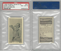 M164-42 Murray Sons, Bathing Belles, 1939, #24 Mary Carlisle, PSA 8 NMMT