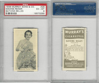 M164-42 Murray Sons, Bathing Belles, 1939, #28 Maxine Reiner, PSA 6 EXMT