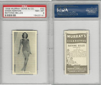 M164-42 Murray Sons, Bathing Belles, 1939, #30 Gwen Kenyon, PSA 8 NMMT