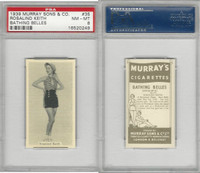 M164-42 Murray Sons, Bathing Belles, 1939, #35 Rosalind Keith, PSA 8 NMMT