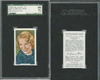G12-90 Gallaher, My Favorite Part, 1939, #28 Florence Rice, SGC 86 NM+