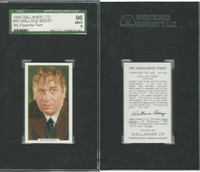 G12-90 Gallaher, My Favorite Part, 1939, #43 Wallace Beery, SGC 96 Mint
