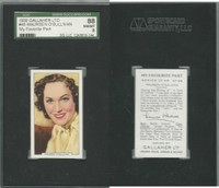 G12-90 Gallaher, My Favorite Part, 1939, #48 Maureen O'Sullivan, SGC 88 NMMT