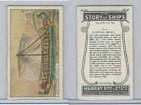 M164-52 Murray, Story of Ships, 1940, #1 Egyptian, 1300 BC