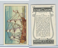 M164-52 Murray, Story of Ships, 1940, #22 The Royal Charles, 1673