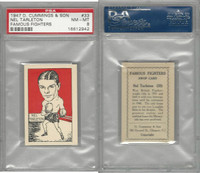 C0-0 Cummings, Famous Fighters, 1947, #33 Nel Tarleton, PSA 8 NMMT