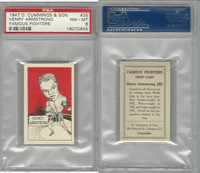 C0-0 Cummings, Famous Fighters, 1947, #35 Henry Armstrong, PSA 8 NMMT