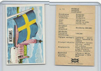 D0-0 Dandy (Denmark), National Flags, 1965, #70 Sweden
