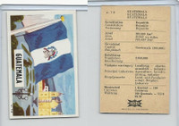 D0-0 Dandy (Denmark), National Flags, 1965, #78 Guatemala