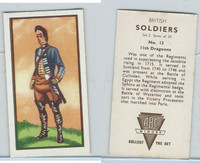 A0-0 ABC Minors, British Soldiers, 1949, #13 11th Dragoons