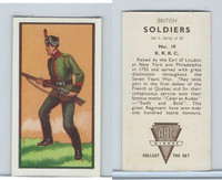 A0-0 ABC Minors, British Soldiers, 1949, #19 K.R.R.C.