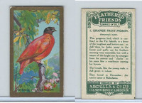A5-14 Abdulla, Feathered Friends, 1935, #1 Orange Fruit Pigeon