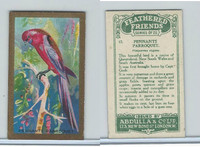 A5-14 Abdulla, Feathered Friends, 1935, #17 Pennants Paroquet