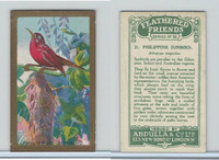 A5-14 Abdulla, Feathered Friends, 1935, #21 Philippine Sunbird