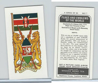B0-0 Brooke Bond Tea, Flags & Emblems, 1973, #17 Kenya